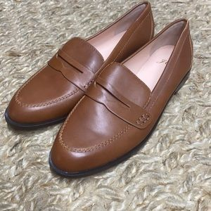 J.crew classic leather tab loafers av994 shoes